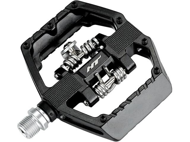HT GD1 Dual Kombipedale schwarz